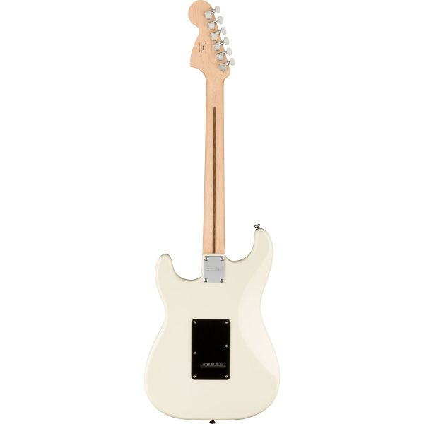 Affinity Series™ Stratocaster® HH, Laurel Fingerboard, Black Pickguard, Olympic White