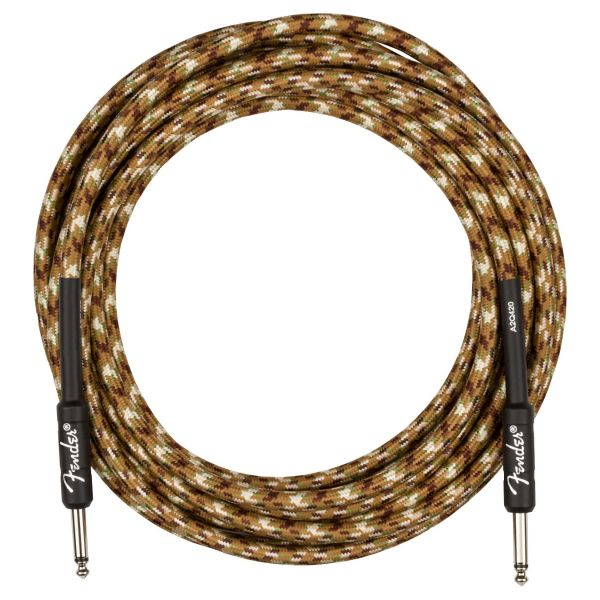 Professional Series Instrument Cable, Straight/Straight, 18.6', Desert Camo